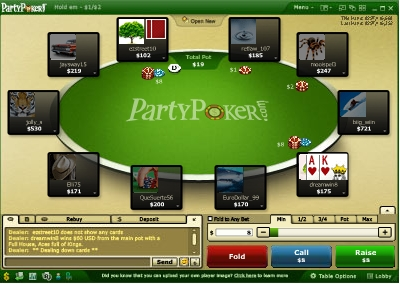 neuer Party Poker Bonus Code